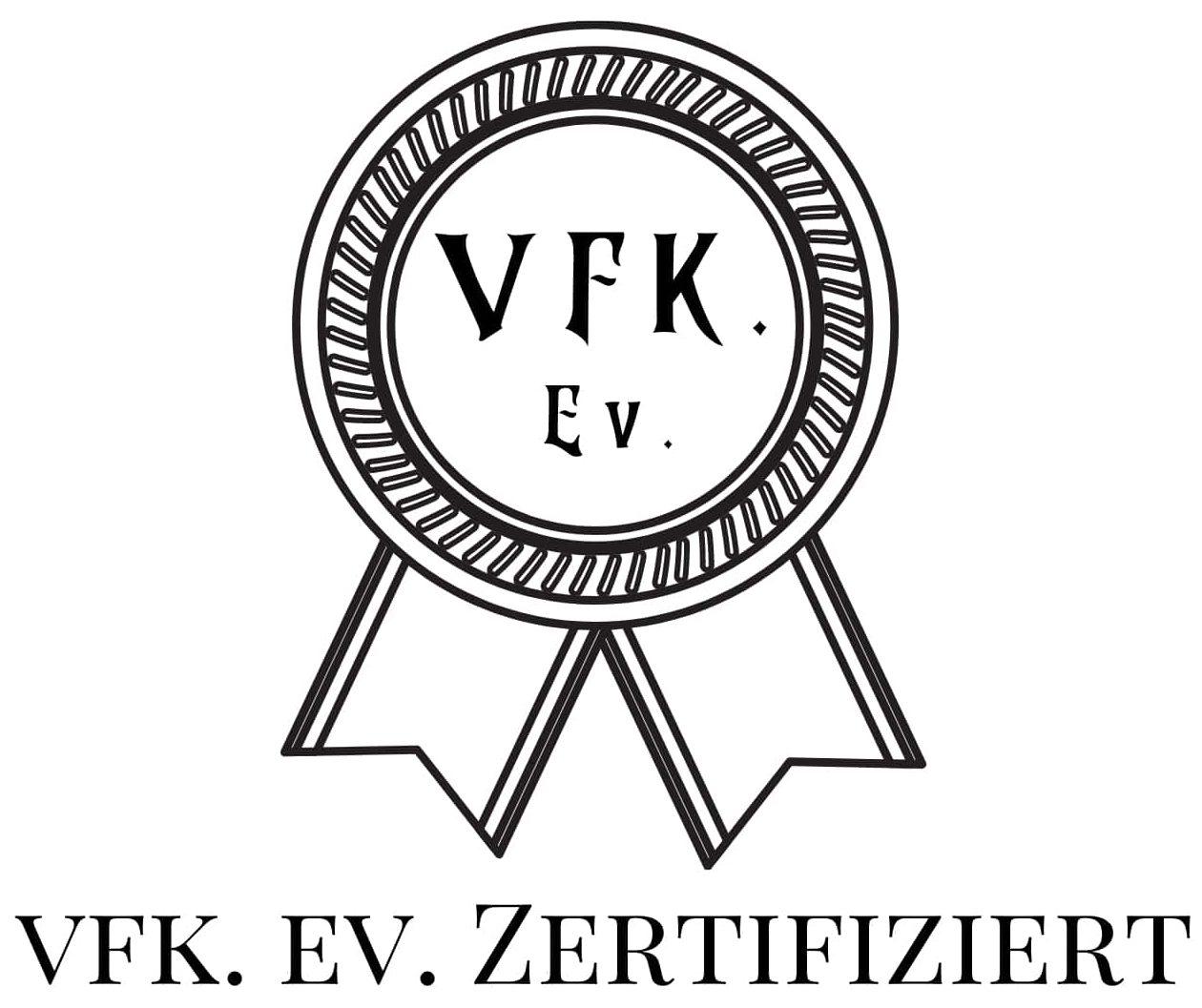 MainXpert ist verifizierter Sachverständiger mit VFK EV Zertifikat